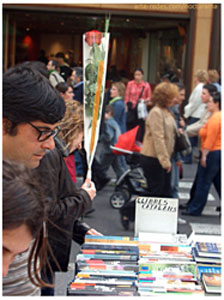 Barcelona - 23 de abril 2005 - Foto: Marcelo Aurelio