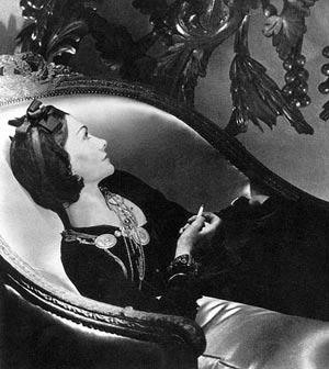 Coco por Horst P. Horst, 1937