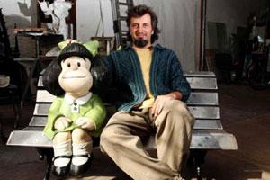 Pablo Irrgang y Mafalda