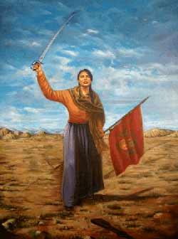 Juana Azurduy Un Cajón Revuelto